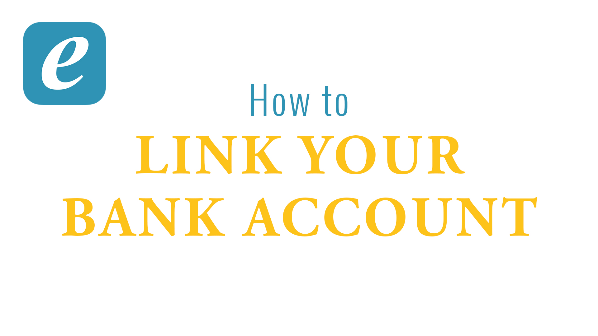 Link Your Bank Account